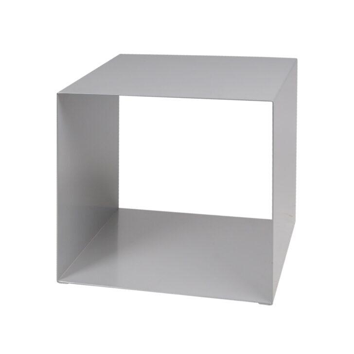 Medium Size of Regalwürfel Metall Regal Wrfel Quadrato Silber Promondo Bett Weiß Regale Wohnzimmer Regalwürfel Metall