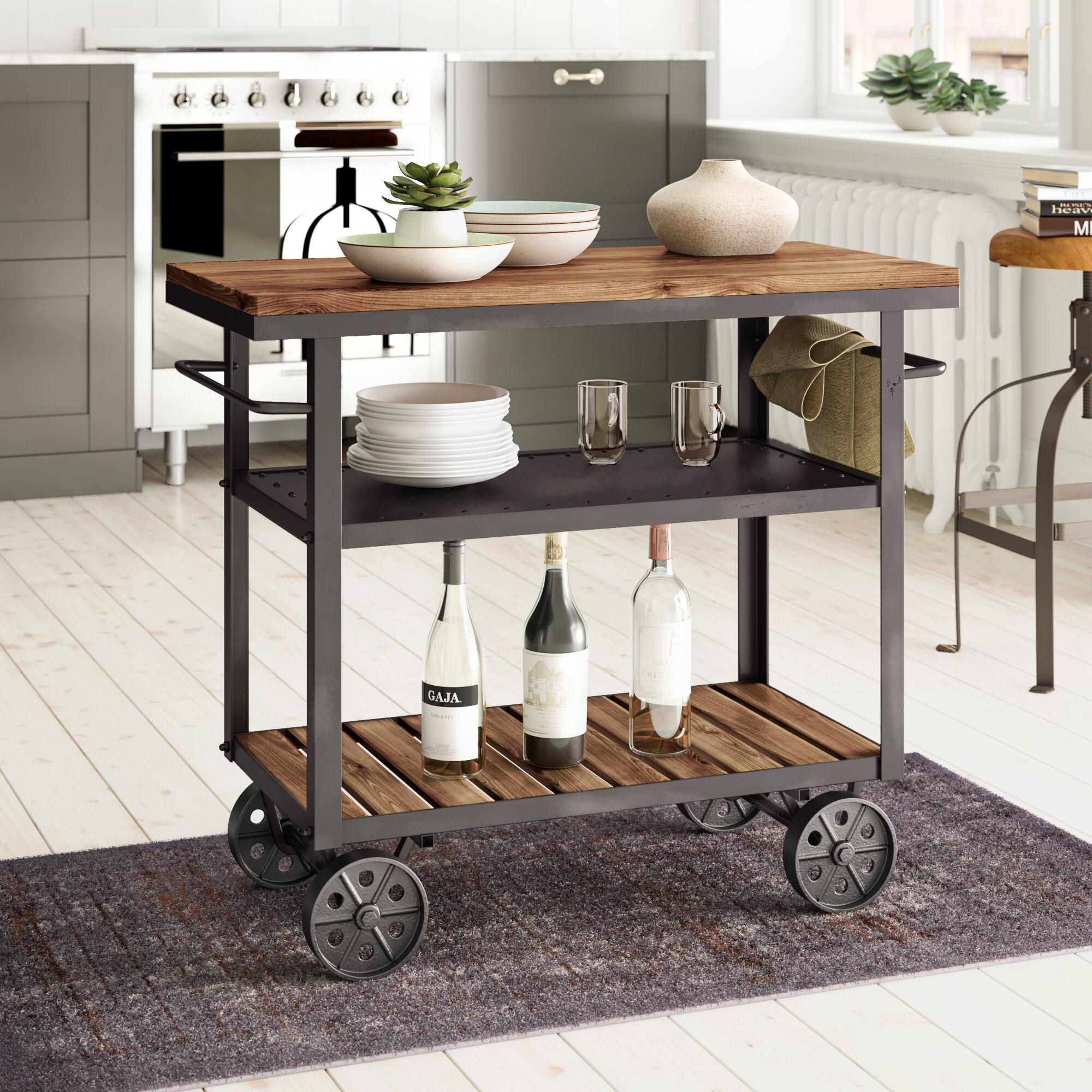 Full Size of Loftdesigns Kcheninsel Skowhegan Bewertungen Wayfairde Freistehende Küche Wohnzimmer Kücheninsel Freistehend
