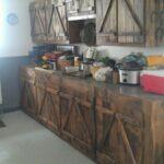 Rustikale Küche Selber Bauen 70 Incredible Farmhouse Kitchen Cabinets Design Ideas Lovelyving Holz Weiß Einbauküche Ohne Kühlschrank Mit Tresen Wohnzimmer Rustikale Küche Selber Bauen