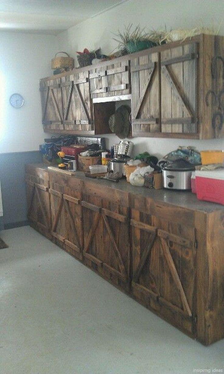Full Size of Rustikale Küche Selber Bauen 70 Incredible Farmhouse Kitchen Cabinets Design Ideas Lovelyving Holz Weiß Einbauküche Ohne Kühlschrank Mit Tresen Wohnzimmer Rustikale Küche Selber Bauen