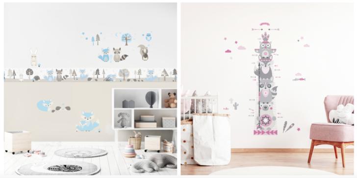 Kinderzimmerbordre Kinderzimmerlampe Kinderzimmer Austattung Regal Weiß Sofa Regale Wohnzimmer Wandgestaltung Kinderzimmer Jungen