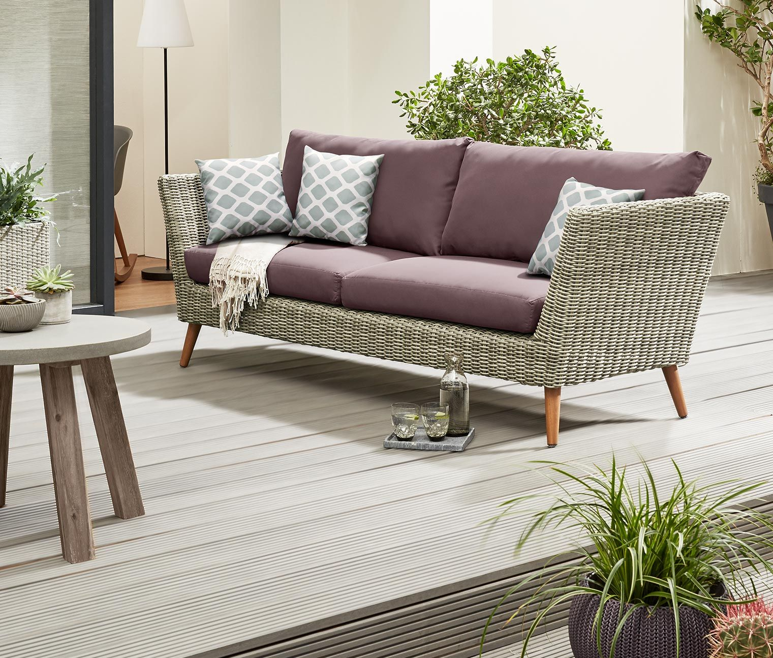Full Size of Gartensofa Tchibo 3 Sitzer Outdoor Sofa Online Bestellen Bei 336726 Wohnzimmer Gartensofa Tchibo