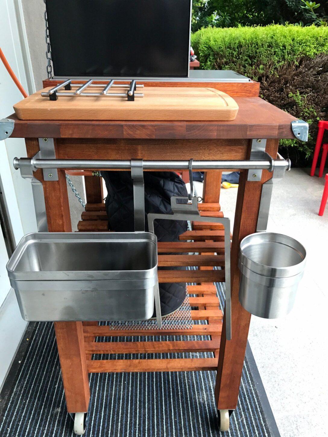 Large Size of Grill Beistelltisch Ikea Der Bekvm Umbau Modding Thread Grilltisch Garten Küche Kosten Kaufen Sofa Mit Schlaffunktion Grillplatte Betten Bei 160x200 Wohnzimmer Grill Beistelltisch Ikea