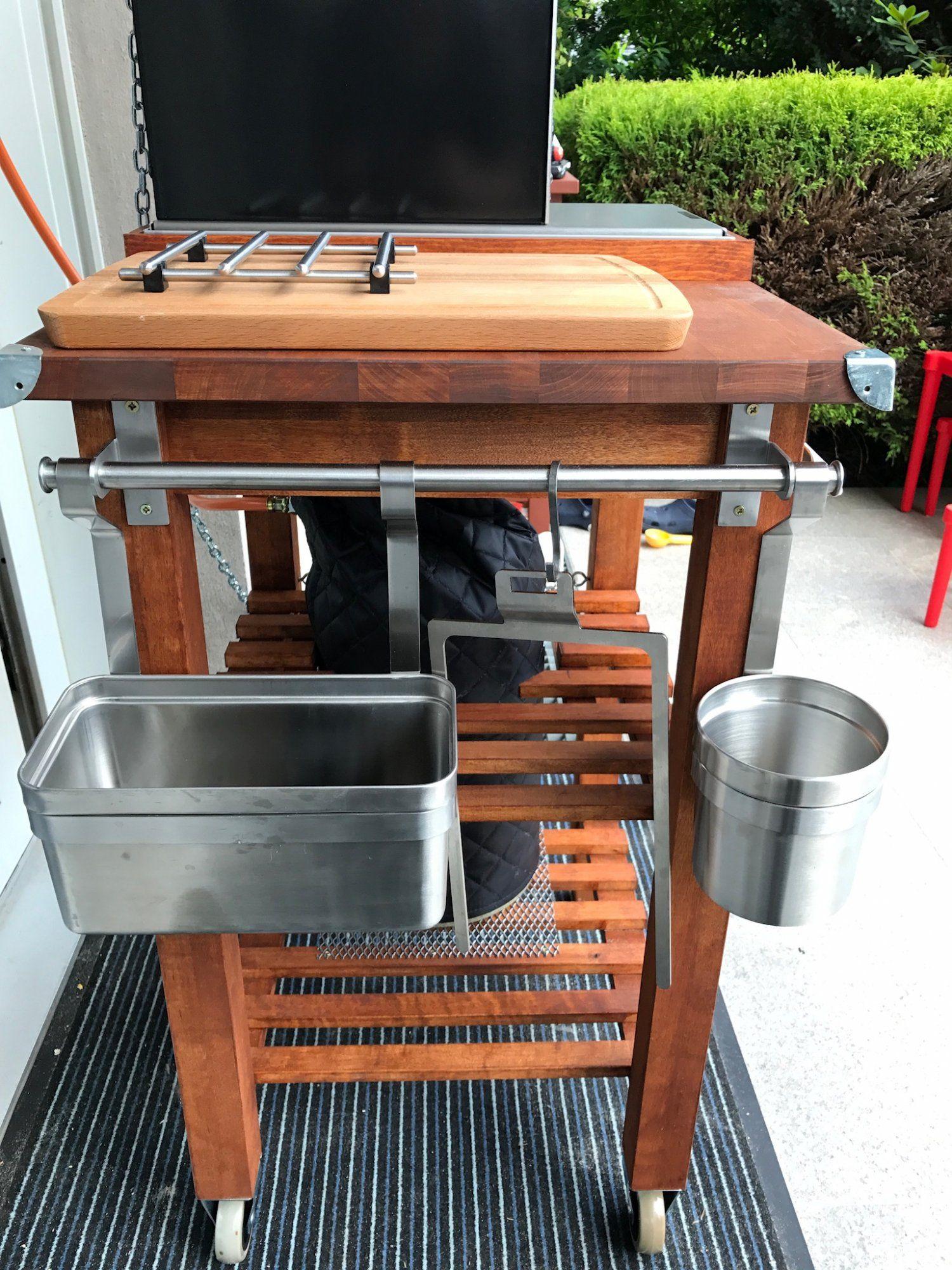 Full Size of Grill Beistelltisch Ikea Der Bekvm Umbau Modding Thread Grilltisch Garten Küche Kosten Kaufen Sofa Mit Schlaffunktion Grillplatte Betten Bei 160x200 Wohnzimmer Grill Beistelltisch Ikea