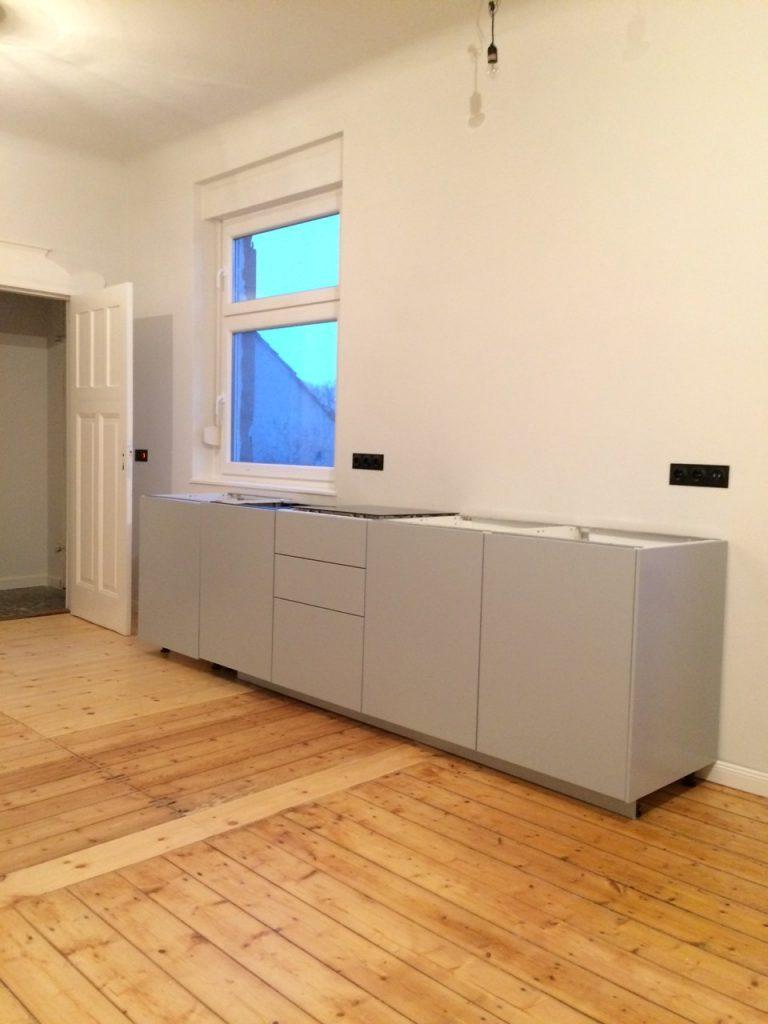 Full Size of Update Von Der Baustelle Vi Unsere Neue Ikea Kche Anzeige Küche Anthrazit Fenster Wohnzimmer Kungsbacka Anthrazit