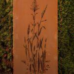 Garten Im Quadrat 3er Set Moderne Sichtschutz Wand Aus Metall Fenster Bett Regal Weiß Wpc Lattenrost Mit Matratze Und 140x200 180x200 Komplett 160x200 Für Wohnzimmer Sichtschutz Metall Rost