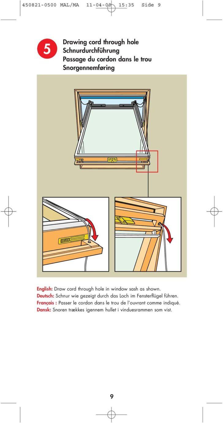Medium Size of Velux Rollo Schnurhalter Jalousie Rollo Schnurhalter Typ Ves Dachfenster Unten Mit Konsolen Ersatzteile Fenster Einbauen Kaufen Preise Wohnzimmer Velux Schnurhalter
