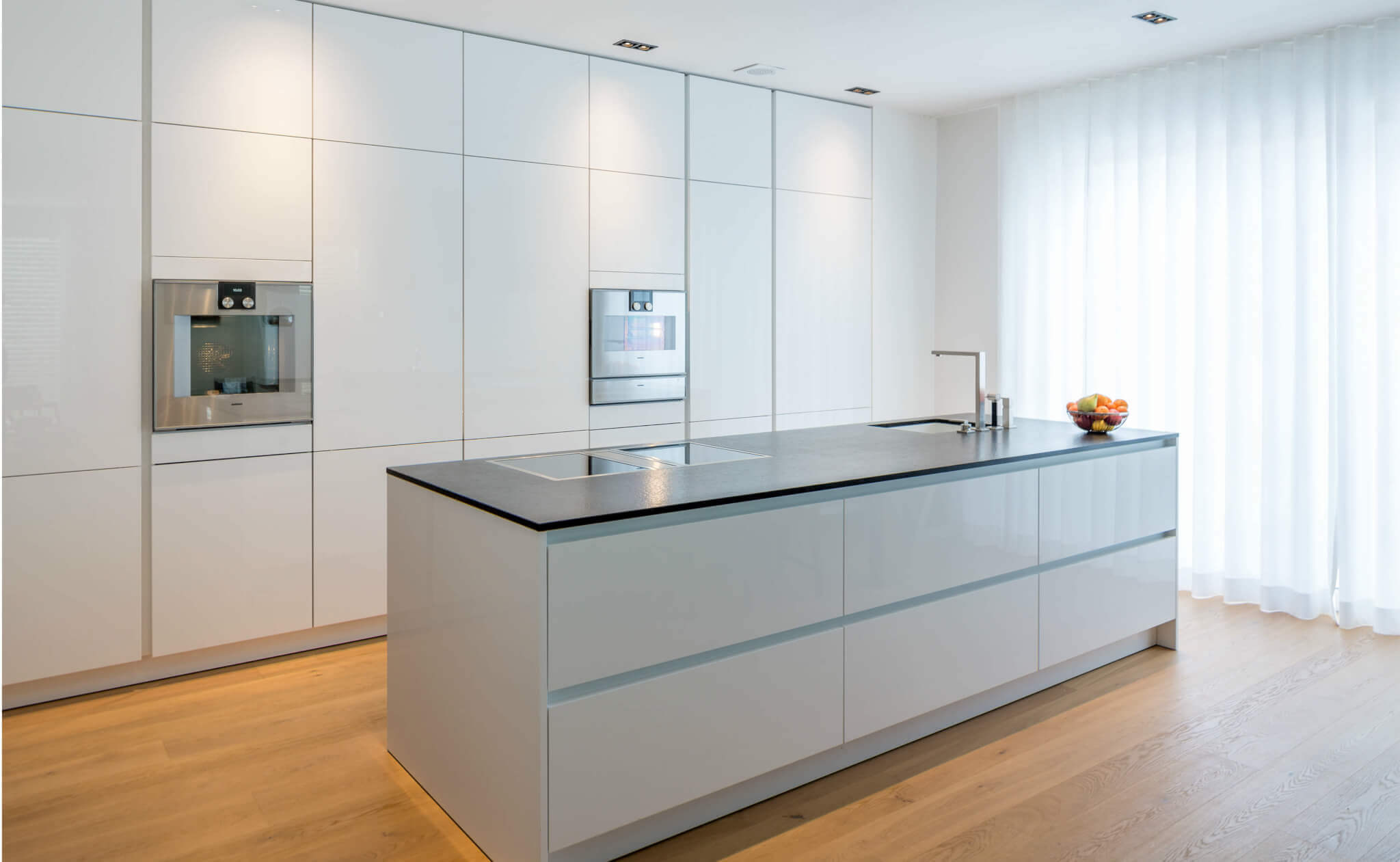 Full Size of Gardinen Am Kchenfenster Tipps Und Ideen Fr Vorhnge In Der Raffrollo Küche Wohnzimmer Raffrollo Küchenfenster