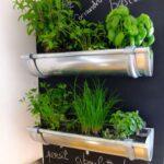 Küchenkräutergarten Wohnzimmer Küchenkräutergarten Kreative Regenrinne Fr Den Kchen Krutergarten Mit Bildern