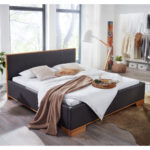 Polsterbett 200x220 Bett Betten Wohnzimmer Polsterbett 200x220