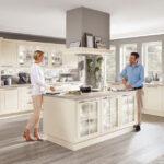 Nobilia Magnolia Landhauskchen Von Modelle Einbauküche Küche Wohnzimmer Nobilia Magnolia