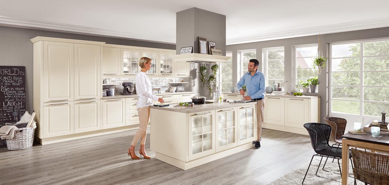 Full Size of Nobilia Magnolia Landhauskchen Von Modelle Einbauküche Küche Wohnzimmer Nobilia Magnolia