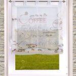 Modern Küchengardinen Gardinen Welt Online Shop Schickes Raffrollo Oder Kchengardine Moderne Bilder Fürs Wohnzimmer Deckenleuchte Schlafzimmer Duschen Wohnzimmer Modern Küchengardinen