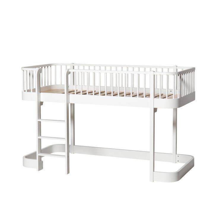 Medium Size of Wood Halbhohes Hochbett Bett Wohnzimmer Halbhohes Hochbett