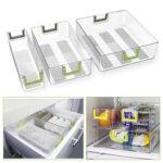 Khlschrank Organizer Kchen Kunststoff Aufbewahrungsbehälter Küche Wohnzimmer Aufbewahrungsbehälter