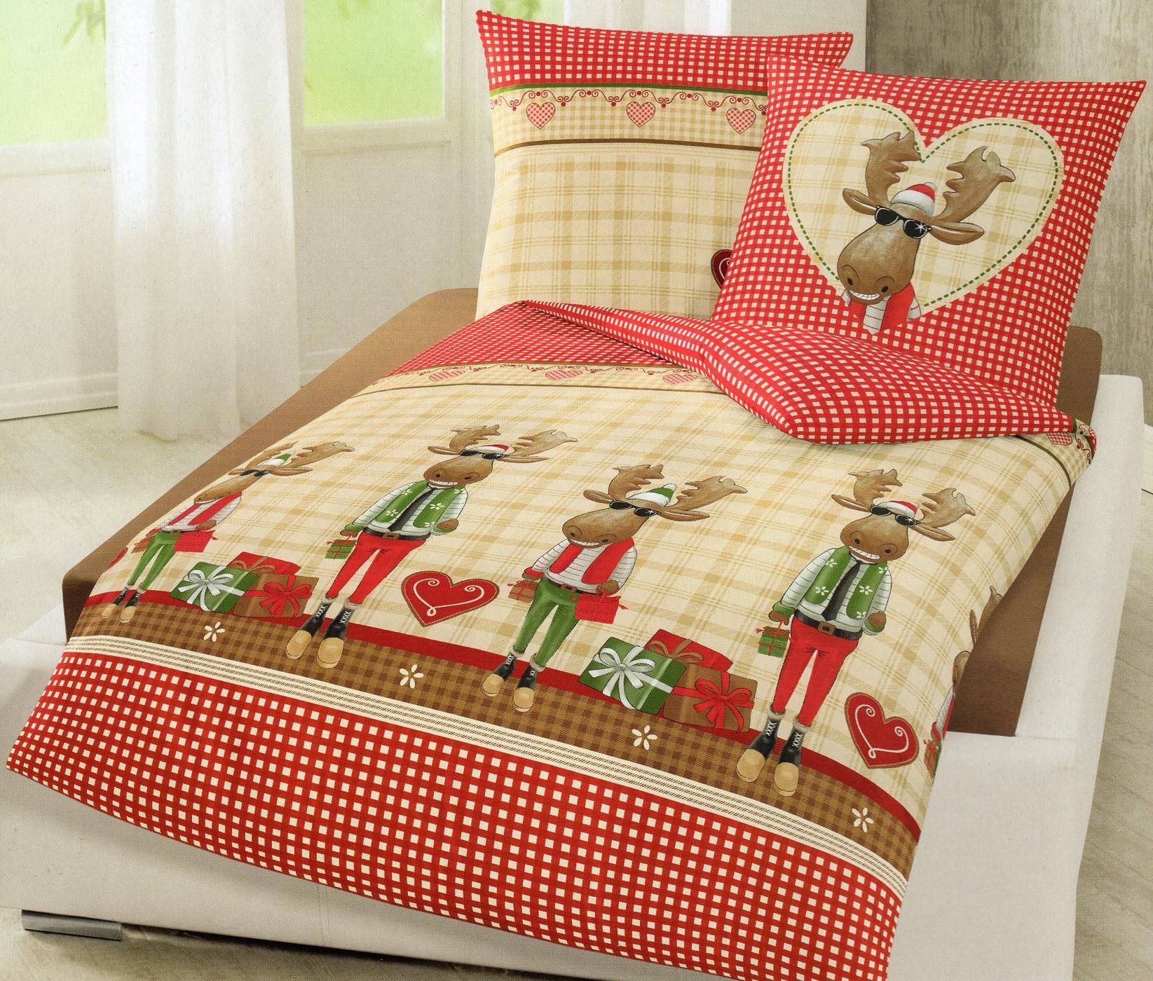 Full Size of Bierbaum Biber Bettwsche Lustiger Elch 155 220 Cm Baumwolle Lustige T Shirt Sprüche T Shirt Bettwäsche Wohnzimmer Lustige Bettwäsche 155x220