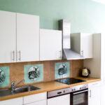 Küche Mint Wohnzimmer Kche Grn Wei Deko Mintgrn Landhaus Blau Einbaukche L Form Sockelblende Küche Hängeschrank Höhe Rustikal Für Anthrazit Singelküche Wasserhähne Spülbecken