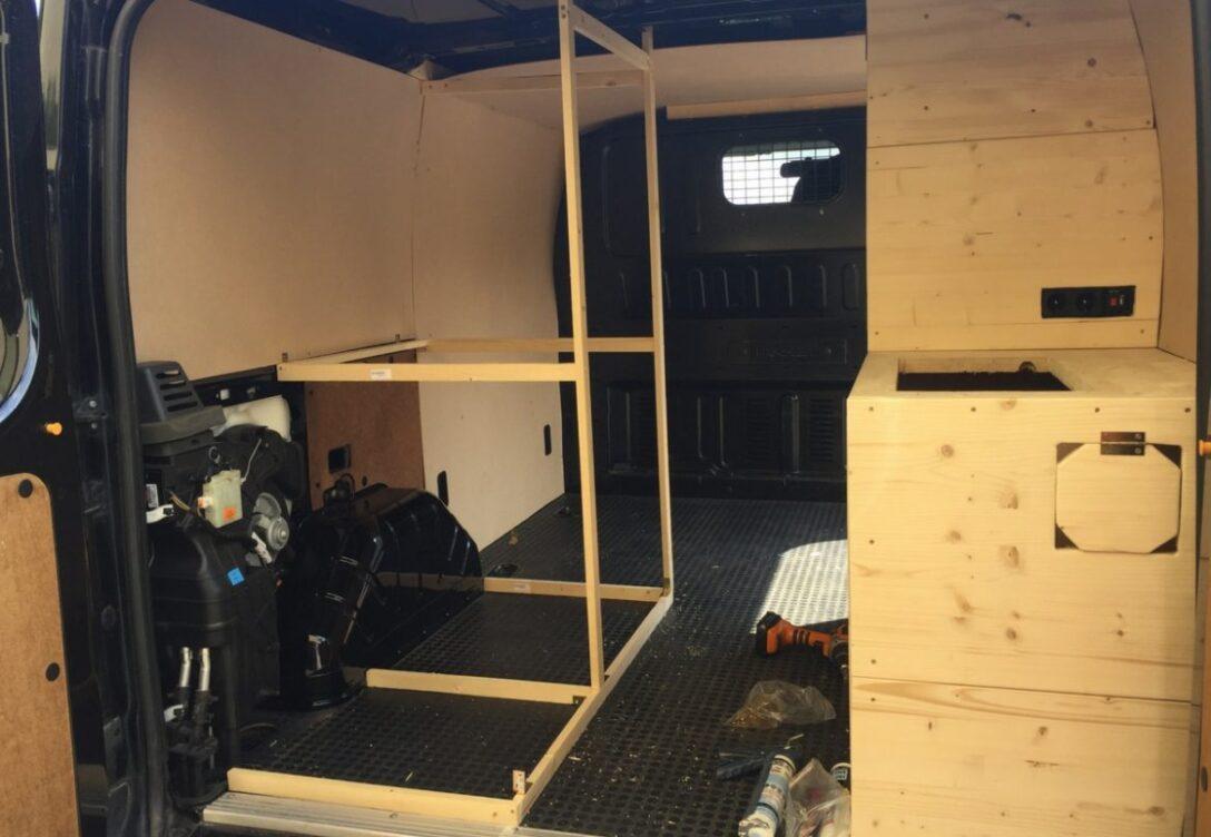 Large Size of Ausziehbett Camper Vom Lieferwagen Zum Van In Nur 30 Tagen Bett Mit Wohnzimmer Ausziehbett Camper
