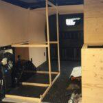 Ausziehbett Camper Wohnzimmer Ausziehbett Camper Vom Lieferwagen Zum Van In Nur 30 Tagen Bett Mit