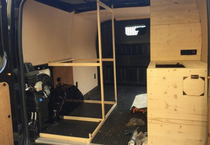 Medium Size of Ausziehbett Camper Vom Lieferwagen Zum Van In Nur 30 Tagen Bett Mit Wohnzimmer Ausziehbett Camper