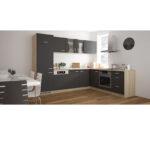 Apothekerschrank Halbhoch Anthrazit Sonoma Eiche 30 Cm Breit Online Küche Wohnzimmer Apothekerschrank Halbhoch