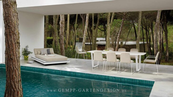 Medium Size of Modern Loungemöbel Outdoor Gartenmbel Gempp Gartendesign Designmbel Küche Kaufen Deckenleuchte Schlafzimmer Tapete Deckenlampen Wohnzimmer Bett Design Wohnzimmer Modern Loungemöbel Outdoor