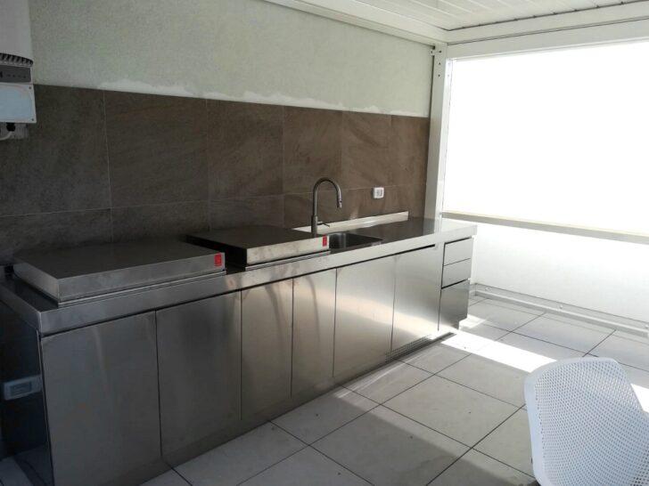 Medium Size of Ark Kchen Italienische Edelstahl Kche Projekte Nach Küchen Regal Wohnzimmer Real Küchen