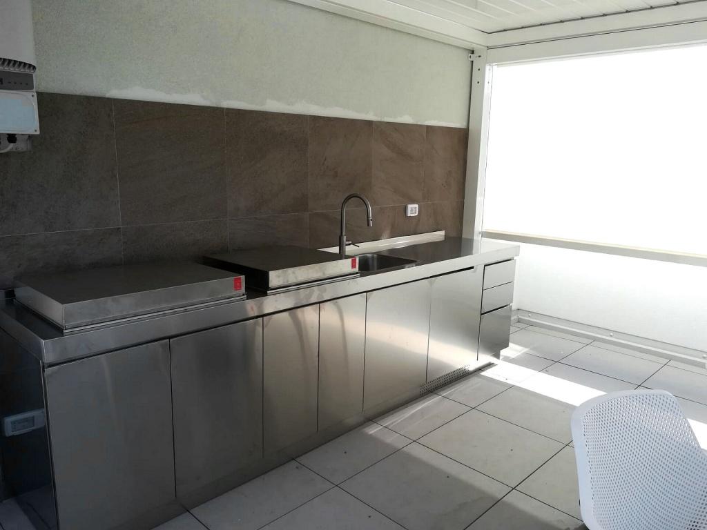 Full Size of Ark Kchen Italienische Edelstahl Kche Projekte Nach Küchen Regal Wohnzimmer Real Küchen