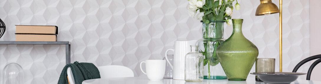 Large Size of Küchen Tapeten Abwaschbar Feiern Ihr Comeback So Tapezieren Sie Richtig Wohnzimmer Ideen Für Küche Die Schlafzimmer Regal Fototapeten Wohnzimmer Küchen Tapeten Abwaschbar