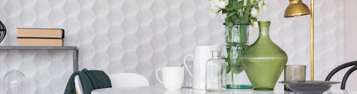 Medium Size of Küchen Tapeten Abwaschbar Feiern Ihr Comeback So Tapezieren Sie Richtig Wohnzimmer Ideen Für Küche Die Schlafzimmer Regal Fototapeten Wohnzimmer Küchen Tapeten Abwaschbar