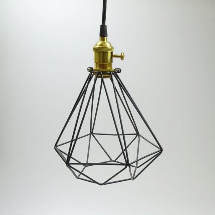 Medium Size of Lampe Modern Metall Mit Kabel 20x17cm Schwarz Deckenleuchte Schlafzimmer Stehlampe Wohnzimmer Deckenlampen Tischlampe Deckenlampe Bad Lampen Esstisch Moderne Wohnzimmer Lampe Modern