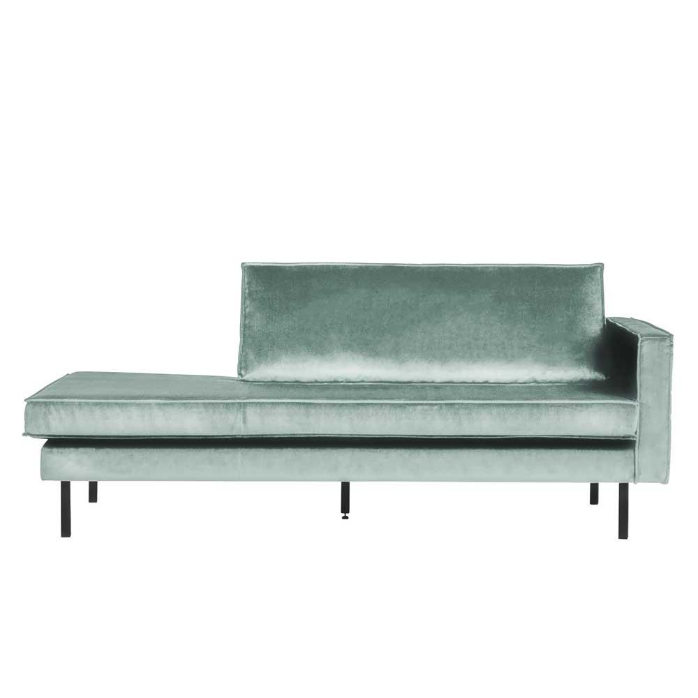 Full Size of Recamiere Samt Mintgrnes Retro Sofa Mit Als Alesconia Wohnende Wohnzimmer Recamiere Samt