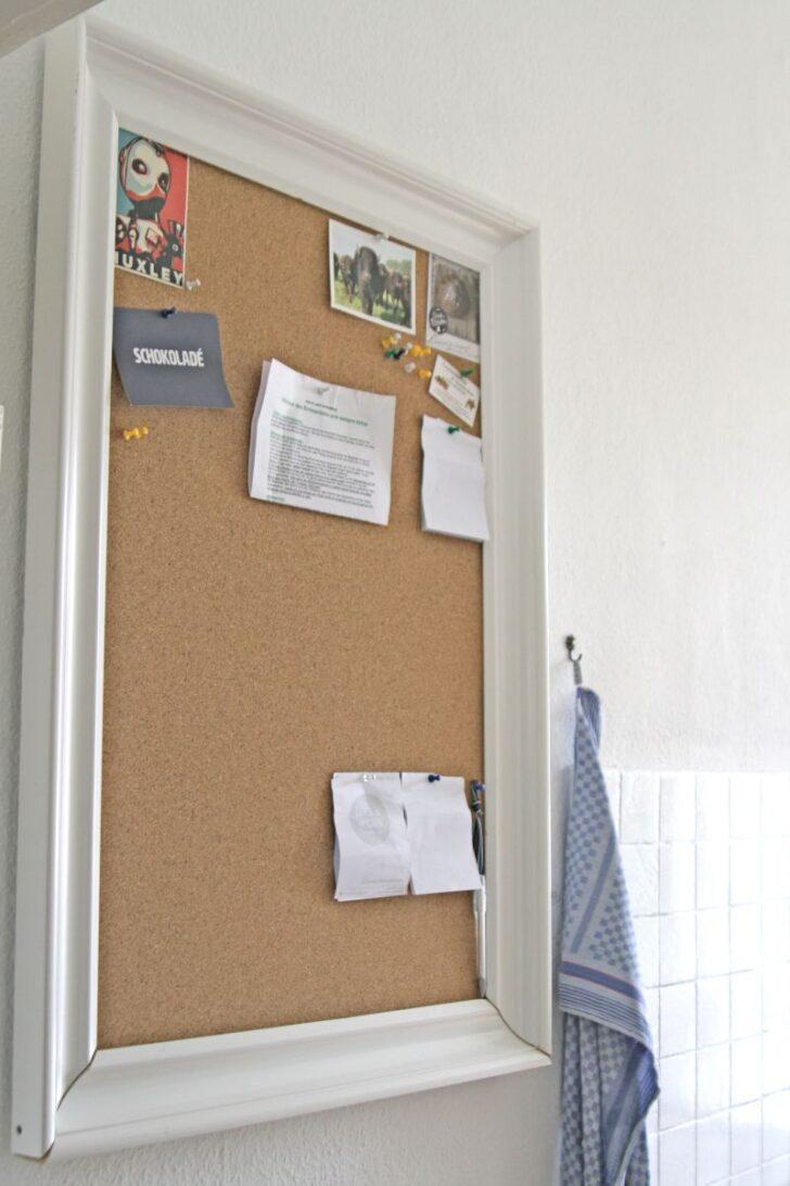 Medium Size of Aus Einem Groen Rahmen Wird Schnell Eine Kork Pinnwand Fr Die Stehhilfe Küche Gardine U Form Modulküche Sprüche Für Eckbank Granitplatten Hängeschrank Wohnzimmer Pinnwand Küche