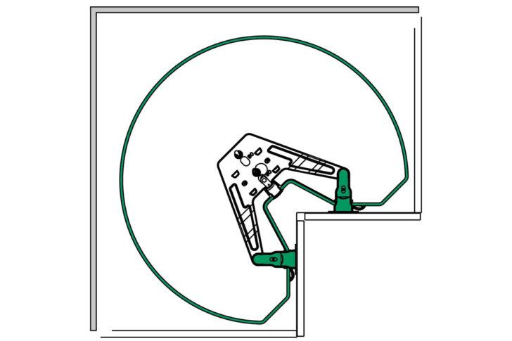 Medium Size of Intelligente Eckschrnke Fr Kche Kessebhmer Eckschrank Küche Schlafzimmer Küchen Regal Bad Wohnzimmer Küchen Eckschrank Rondell