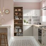 Wandfarbe Rosa Graue Kche Welche Eignet Sich Am Besten Küche Wohnzimmer Wandfarbe Rosa