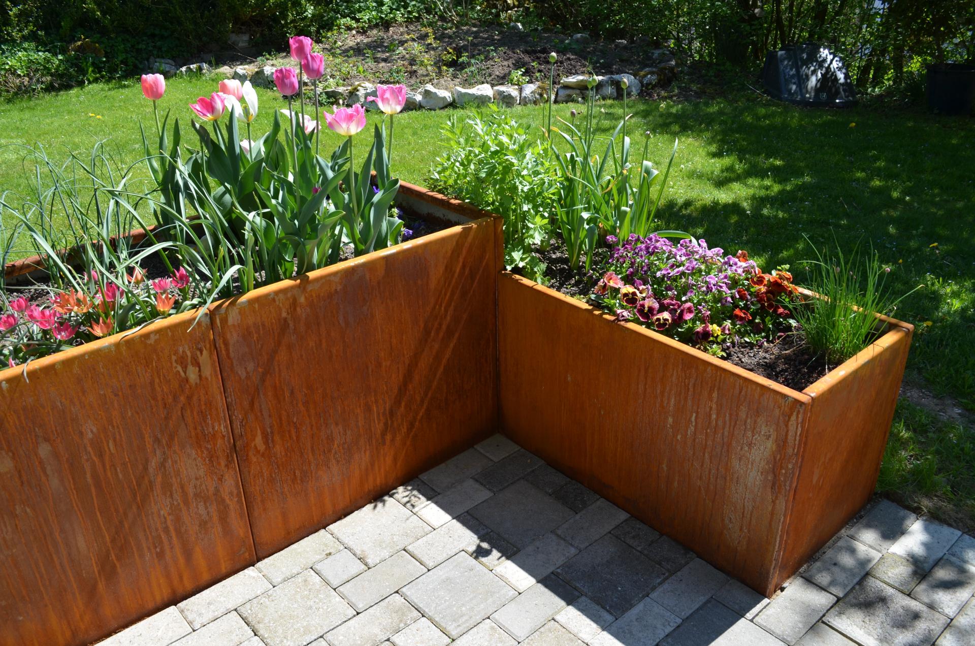 Full Size of Hochbeete Kobeldesign Garten Hochbeet Outdoor Küche Edelstahl Edelstahlküche Gebraucht Wohnzimmer Hochbeet Edelstahl