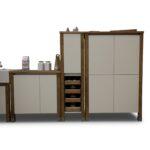 Modulküchen Wohnzimmer Showroom Modulkchen Bloc Modulkche Online Kaufen