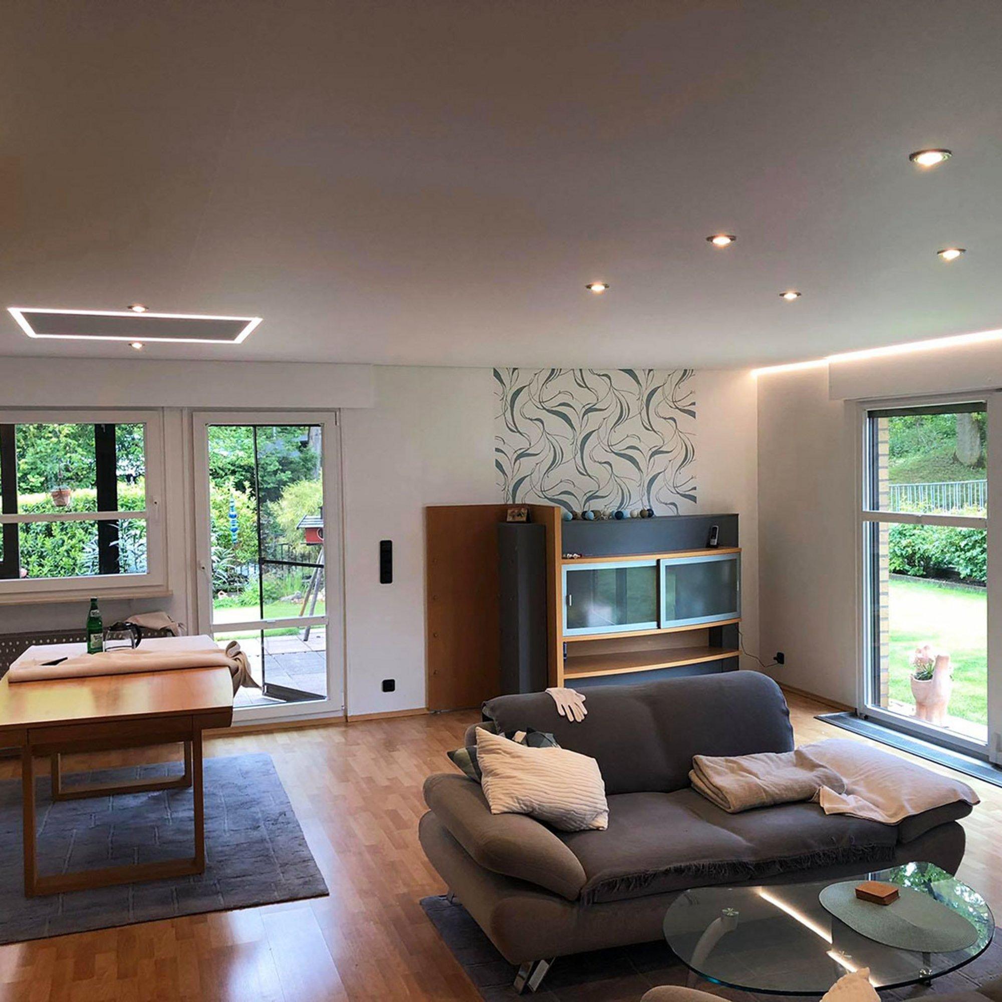 Full Size of Indirekte Beleuchtung Led Decke Selber Bauen Machen Wohnzimmer Wand Ideen Bett Mit Deckenleuchte Küche Moderne Einbauküche Deckenleuchten Tagesdecken Für Wohnzimmer Indirekte Beleuchtung Decke Selber Bauen