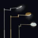 Stehlampe Led Dimmbar Wohnzimmer Stehlampe Led Dimmbar Deckenfluter Mit Leseleuchte Farbwechsel Bauhaus Stehleuchte Design Leselampe Messing Schwarz Fernbedienung Stehlampen Amazon Exklusive