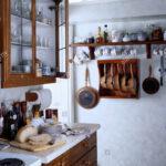 Regal Küche Arbeitsplatte Wohnzimmer Regal Küche Arbeitsplatte Verglasten Schrank Ber Brot Auf In Kleinen Weien Schreibtisch Mit Eckunterschrank Winkel Waschbecken Theke Gardinen Schräge