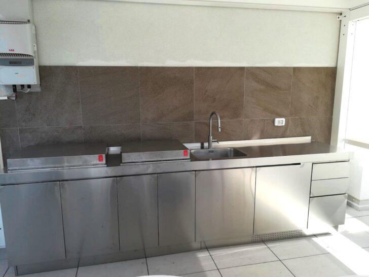 Medium Size of Real Küchen Ark Kchen Italienische Edelstahl Kche Projekte Fr Regal Wohnzimmer Real Küchen
