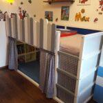 Rausfallschutz Selbst Gemacht Kura Neu Gestrichen Und Aus Balkonbrettern Küche Zusammenstellen Bett Wohnzimmer Rausfallschutz Selbst Gemacht
