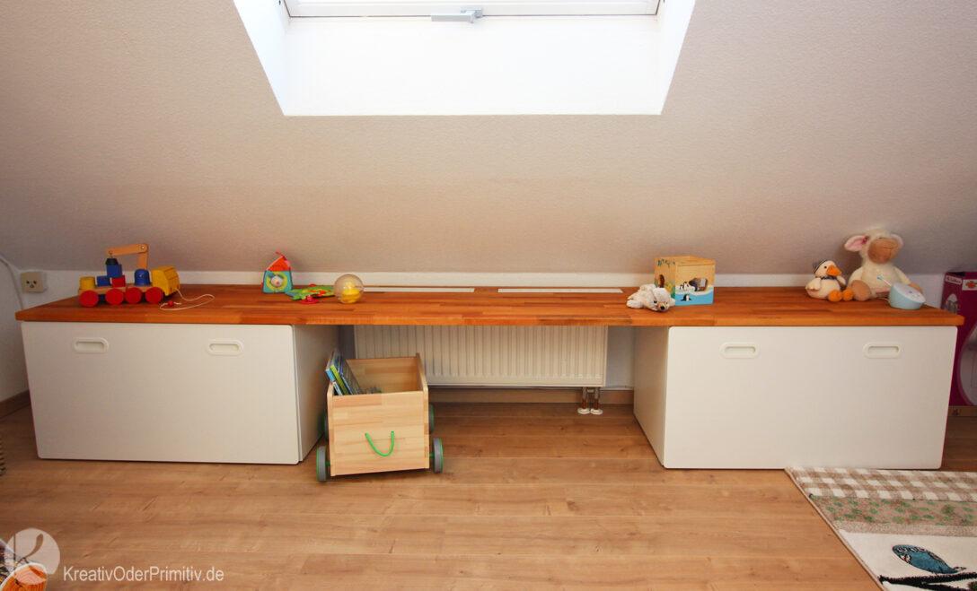 Large Size of Kreativ Oder Primitiv Dachschrgen Tisch Regal Ikea Hack Stuva Betten Mit Aufbewahrung Küche Kaufen Bett Aufbewahrungsbox Garten Kosten Sofa Schlaffunktion Wohnzimmer Ikea Hacks Aufbewahrung