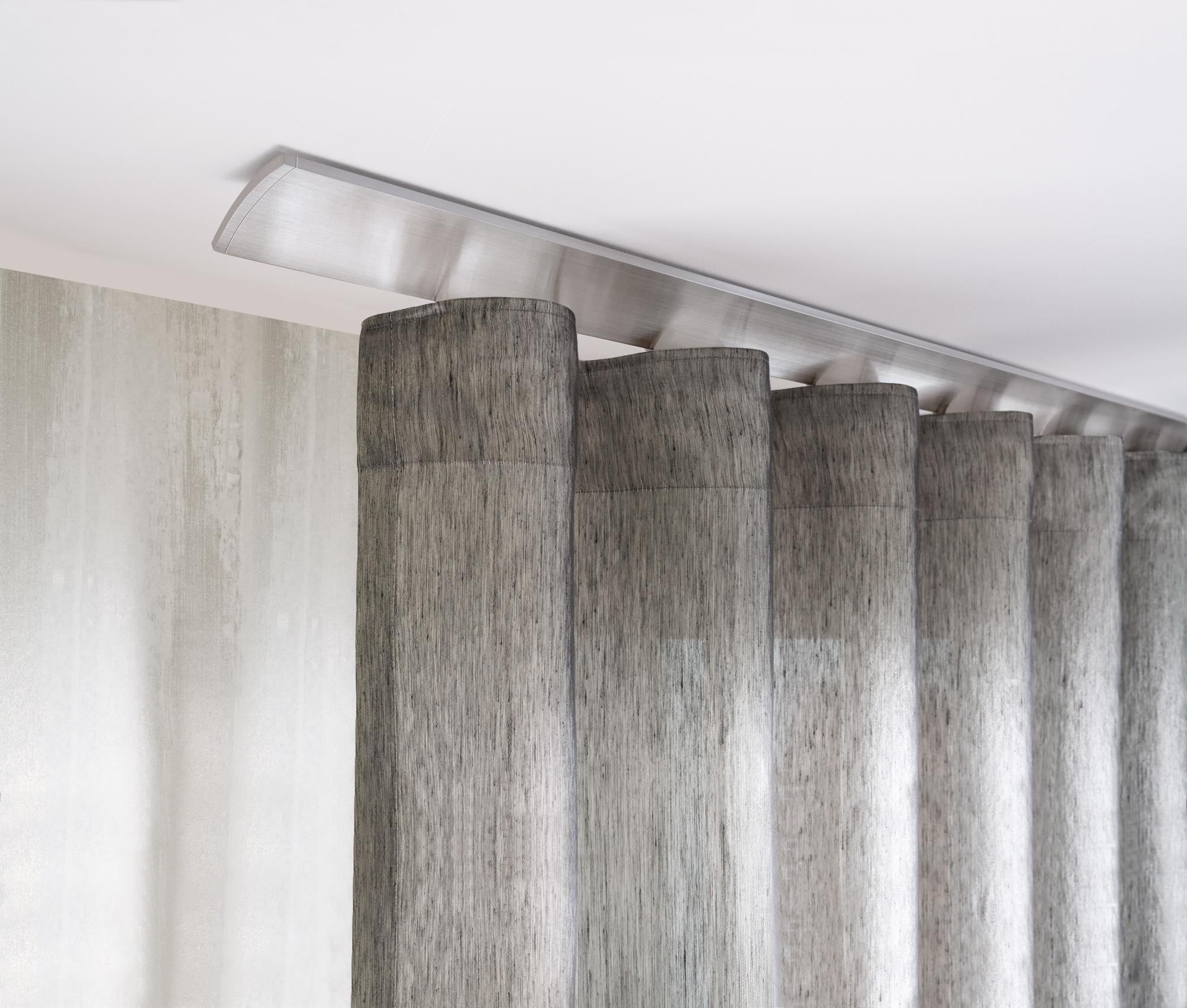 Full Size of Vorhänge Schiene Interstil W2 Deckenmontage In Farbe 79 Aluminium Magenau Schlafzimmer Wohnzimmer Küche Wohnzimmer Vorhänge Schiene