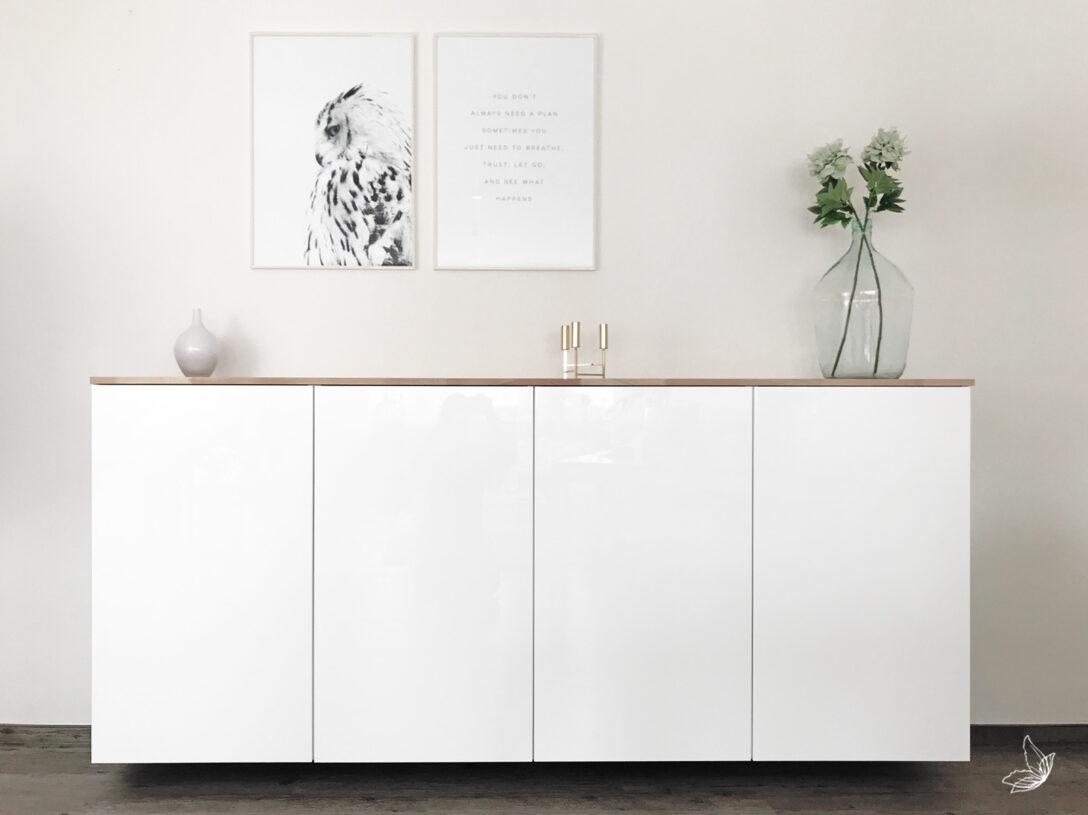 Large Size of Ikea Hack Metod Kchenschrank Als Sideboard Betten 160x200 Miniküche Modulküche Bei Sofa Mit Schlaffunktion Küche Kaufen Anrichte Kosten Wohnzimmer Anrichte Ikea