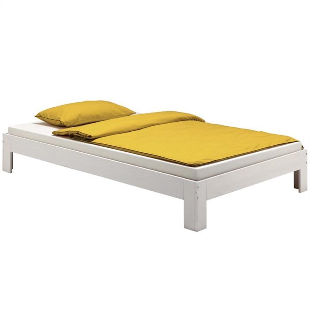 Full Size of Futonbett Thomas 100 200 Cm Wei Lackiert Real Bett Weiß 100x200 Betten Wohnzimmer Futonbett 100x200