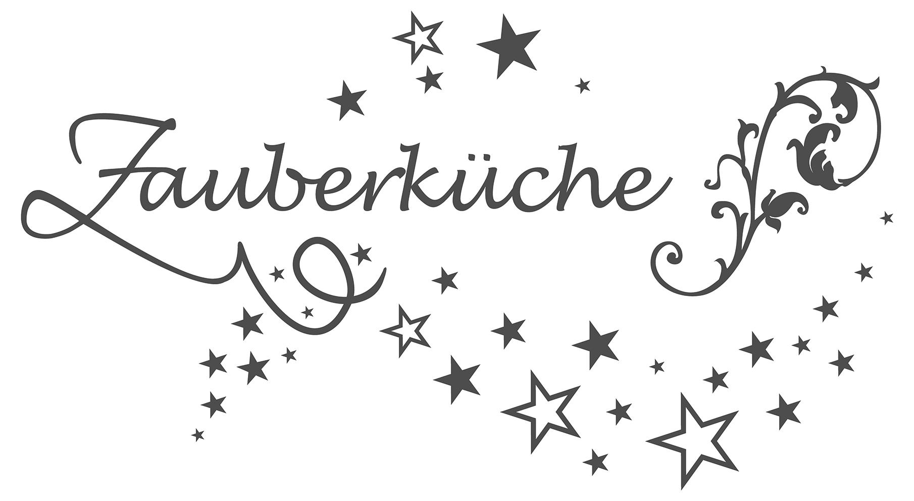 Full Size of Wandtattoo Küche Kräuter Spruch Kche Zauberkche Mit Sternen Wanddeko Dekodino Aufbewahrungsbehälter Grau Hochglanz Ebay Ikea Kosten Pendelleuchte Gardinen Wohnzimmer Wandtattoo Küche Kräuter