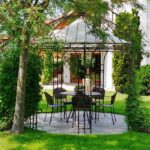 Rosenpavillon 300cm In Der Albena Marokko Galerie Pavillon Garten Wohnzimmer Pavillon Eisen