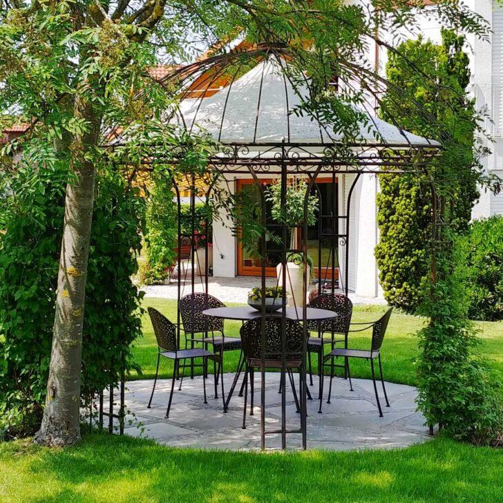 Medium Size of Rosenpavillon 300cm In Der Albena Marokko Galerie Pavillon Garten Wohnzimmer Pavillon Eisen