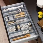 Gewürze Schubladeneinsatz Was Ist Der Richtige Besteckeinsatz Fr Kchenschublade Küche Wohnzimmer Gewürze Schubladeneinsatz